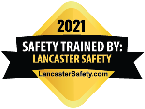 Lancaster Safety Training Completion for 2021